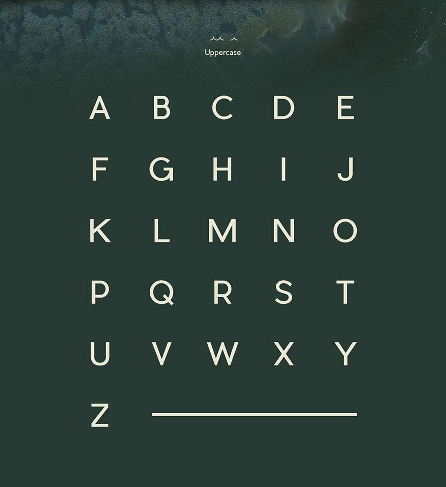 解决你的用字难题!精选97套免费可商用英文字体